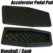 1x RUBBER GAS ACCELERATOR PEDAL PAD COVER FOR SAAB NG 900 93 9-3 94 4241998